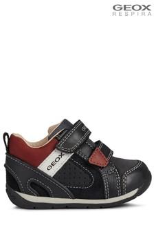 Geox Black B Each Shoes