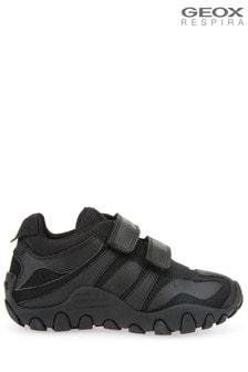 Geox Black B Biglia Boy D Shoes