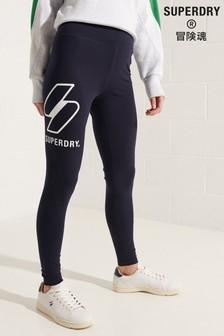 Superdry Sportstyle Logo Leggings