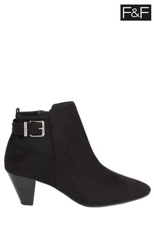 FF Black Ankle Boots