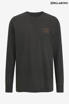 Billabong Clothing Black Die Cut Long Sleeve T-Shirt