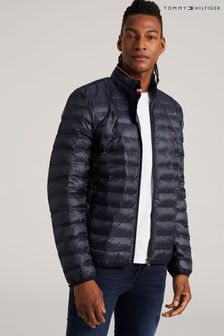 Tommy Hilfiger Blue Core Packable Circular Jacket