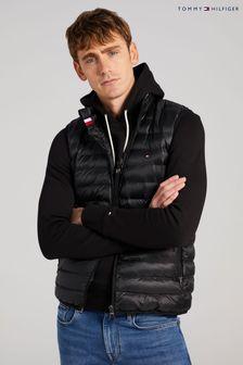 Tommy Hilfiger Black Core Packable Circular Vest