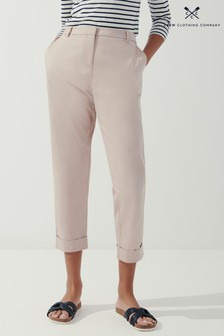 Crew Clothing Company Camel Weekday Trousers