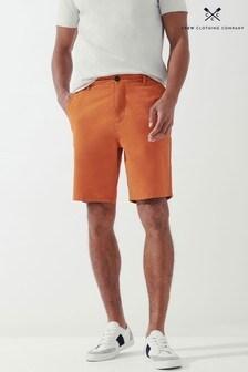 Crew Clothing Company Orange Bermuda Shorts