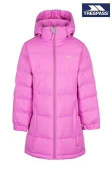 Trespass Younger Girls Pink Tiffy Jacket