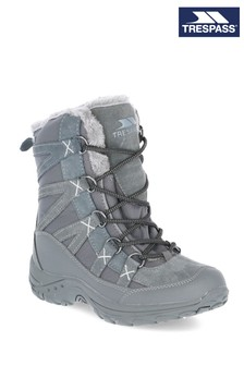 Trespass Womens Grey Zofia  Snowboots