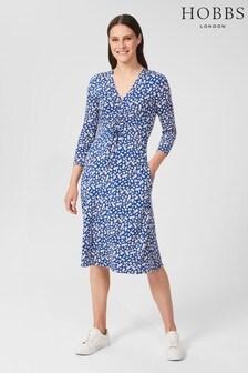 Hobbs Blue Simmy Jersey Dress