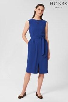 Hobbs Blue Kristen Dress