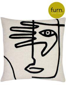 Furn Natural Mono Face Cushion