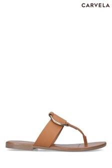 Carvela Comfort Natural Sting Sandals