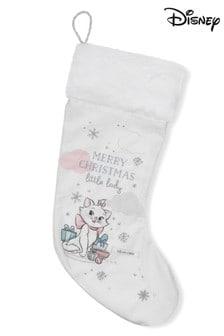 Disney White Merry Christmas Stocking