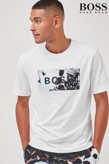 BOSS White TDigital T-Shirt