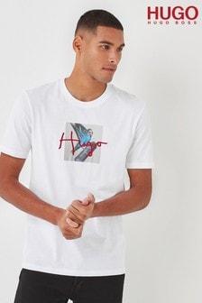 HUGO White Dudgie T-Shirt