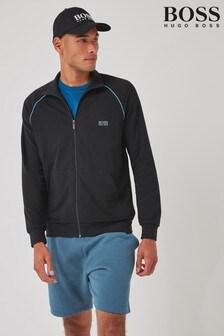 BOSS Grey Mix And Match Zip Through Jacket