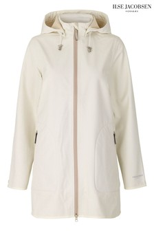 Ilse Jacobsen White Functional Raincoat