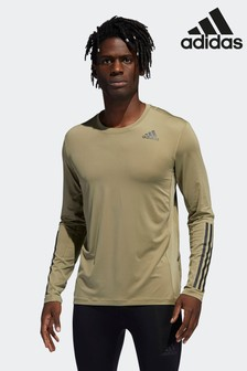 Techfit 3-Stripes Fitted Long-Sleeve Top Long-Sleeve Top