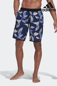 adidas Classic-Length Graphic Swim Shorts