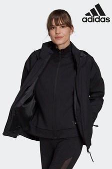 adidas Black Traveer RAIN.RDY Jacket