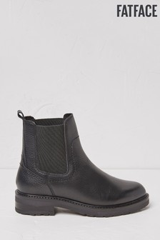 FatFace Black Blake Chelsea Boots