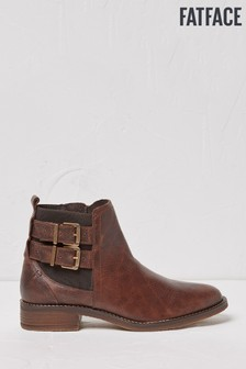 FatFace Womens Brown Dalby Ankle Boots