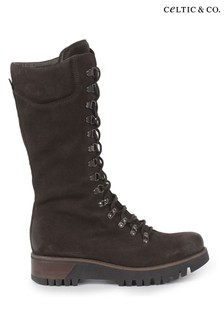 Celtic & Co. Womens Brown Wilderness Boots