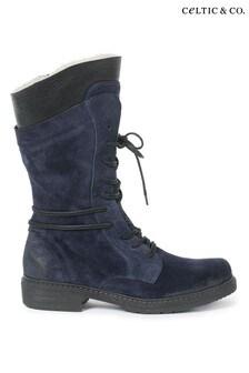 Celtic & Co. Blue Woodman Boots