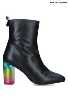 Kurt Geiger London Black Rainbow Strut Boots