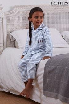 Trotters London Blue Felix Pyjamas