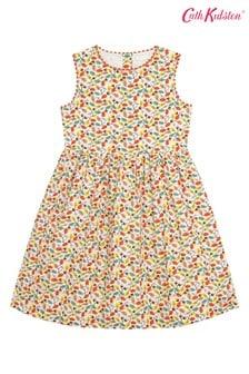 Cath Kidston Cream Charlotte Trailing Leaves Dress