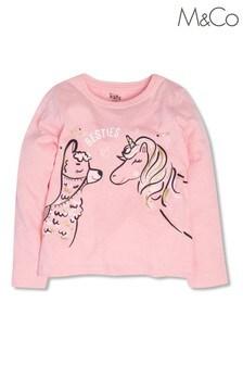 M&Co Pink Besties T-Shirt