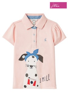 Joules Pink Polo Shirt