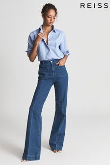 Reiss JENNY Cotton Poplin Shirt