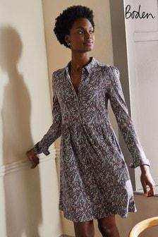 Boden Alma Jersey Shirt Dress