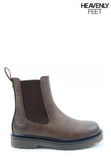 Heavenly Feet Ladies Saint Ankle Boots