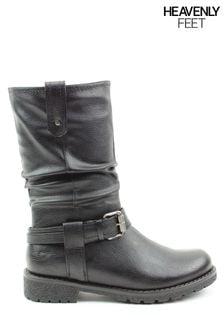 Heavenly Feet Ladies Indiana Mid Calf Boots