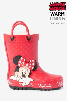 Red Minnie Mouse™ Handle Wellies