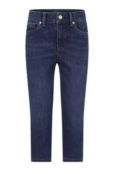Boys Blue Cotton Denim Jeans