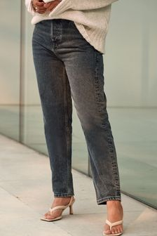 Inky Blue Straight Jeans