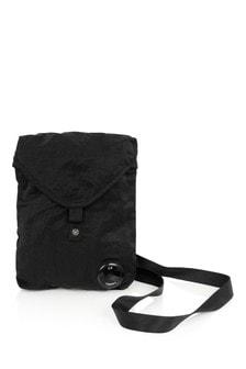 Boys Black Shoulder Bag