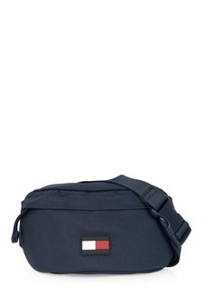 Kids Navy Logo Belt Bag