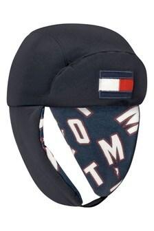 Kids Navy Big Flag Hat