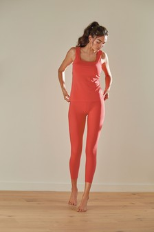 Coral Sculpting 7/8 Sports Leggings
