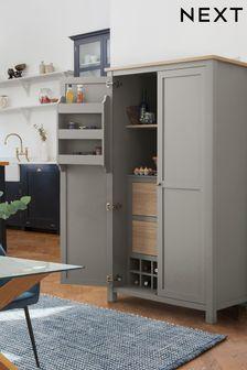 Dove Malvern Kitchen Larder Cupboard