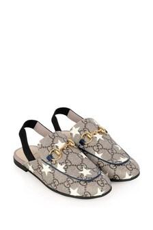 Kids Princetown GG Star Sandals
