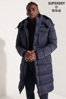 Superdry Blue Touchline Padded Jacket