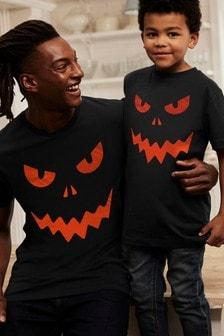 Halloween Pumpkin T-Shirt (3-16yrs)