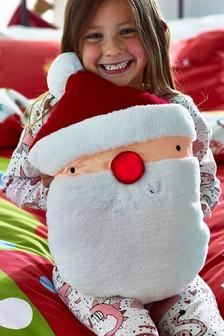 Musical Light-Up Santa Cushion