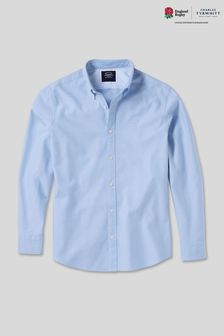 Charles Tyrwhitt Blue RFU Oxford Shirt