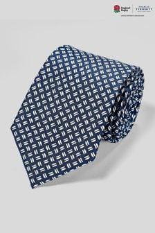 Charles Tyrwhitt Blue Rfu Rugby Ball Tie